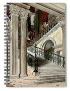 Buckingham House Stair Case Spiral Notebook