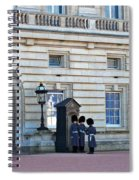 Buckingham Palace Guards Spiral Notebook