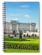 Buckingham Palace Sunny Day Spiral Notebook