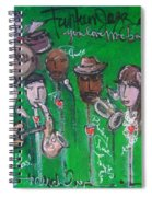 Buckner Funken Jazz Spiral Notebook