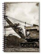 Bucyrus Erie Shovel Spiral Notebook