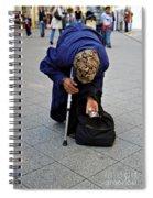 Budapest Beggar Spiral Notebook