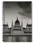 Budapest Parliament Spiral Notebook