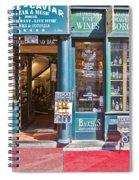 Budapest Storefront Spiral Notebook