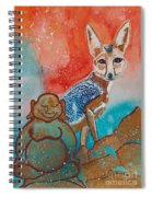 Buddha And The Divine Kit Fox No. 1373 Spiral Notebook