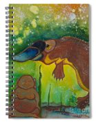 Buddha And The Divine Platypus No. 1375 Spiral Notebook