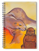 Buddha And The Divine Sea Lion No. 2089 Spiral Notebook