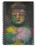 Buddha Encaustic Painting Spiral Notebook