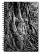 Buddha Head Ayutthaya Spiral Notebook