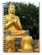 Buddha In Cambodia Spiral Notebook