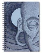 Buddha In Ink Spiral Notebook