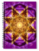 Buddha Mandala Spiral Notebook