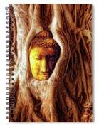 Buddha Of The Banyan Tree Spiral Notebook
