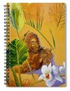 Buddha Sculp Spiral Notebook