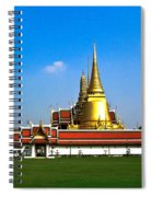 Buddhaist Temple Spiral Notebook