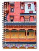 Buddhist Monastery Building Spiral Notebook