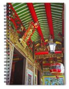 Nord Hoi Temple Ceiling Spiral Notebook