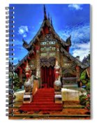 Buddhist Temples In Chiang Mai Spiral Notebook