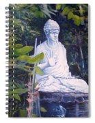 Budha Ubud Bali Indonesia 2008  Spiral Notebook