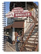 Bud's Broiler New Orleans Spiral Notebook