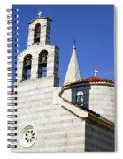 Budva, Montenegro  Spiral Notebook