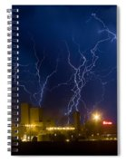 Budweiser  Brewery Storm Spiral Notebook