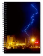 Budweiser Lightning Strike Spiral Notebook