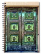 Buenos Aires Church Crypt Door Spiral Notebook