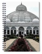 Buffalo And Erie County Botanical Gardens Ink Sketch Effect Spiral Notebook
