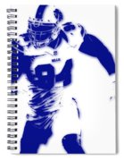 Buffalo Bills Mario Williams Spiral Notebook