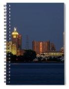 Buffalo Blue Hour Spiral Notebook