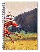 Buffalo Hunt, C1832 Spiral Notebook