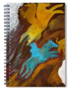 Buffalo Hunt  -021 Spiral Notebook