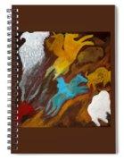 Buffalo Hunt  -021 Spiral Notebook