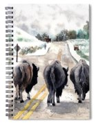 Buffalo Jam Spiral Notebook
