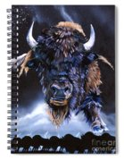 Buffalo Medicine Spiral Notebook