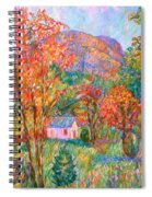 Buffalo Mountain In Fall Spiral Notebook