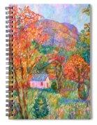 Buffalo Mountain In Fall Spiral Notebook