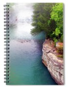 Buffalo River Mist Spiral Notebook