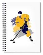 Buffalo Sabres Player Shirt Spiral Notebook
