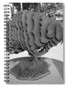 Buffalo Sculpture Grand Junction Co Spiral Notebook