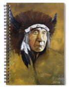 Buffalo Shaman Spiral Notebook