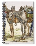 Buffalo Soldiers, 1886 Spiral Notebook
