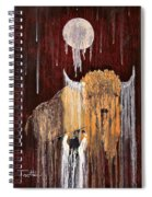 Buffalo Spirit Spiral Notebook