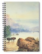 Buffalo Watering Spiral Notebook