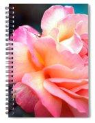 Buffum Rose Spiral Notebook