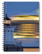 Bug Light Cruise Ship Spiral Notebook
