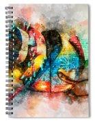 Bug Watercolor Spiral Notebook