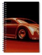 Bugatti Veyron 'beetgatti' 1945 Painting Spiral Notebook