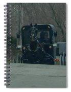 Buggies Traveling Both Ways Spiral Notebook